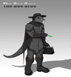 The Doc Croc by Kevin dragon by RazenHashikado