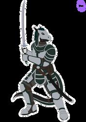 Fawkes Samurai Armor Sticker