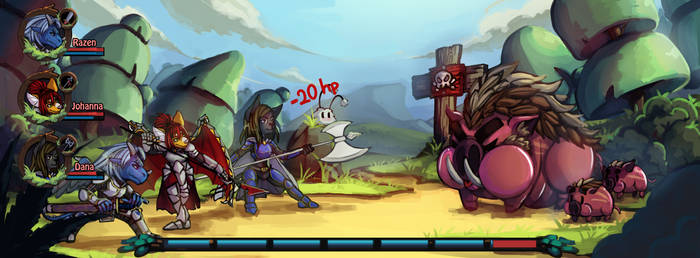 RPG-ish Encounter by eowomir