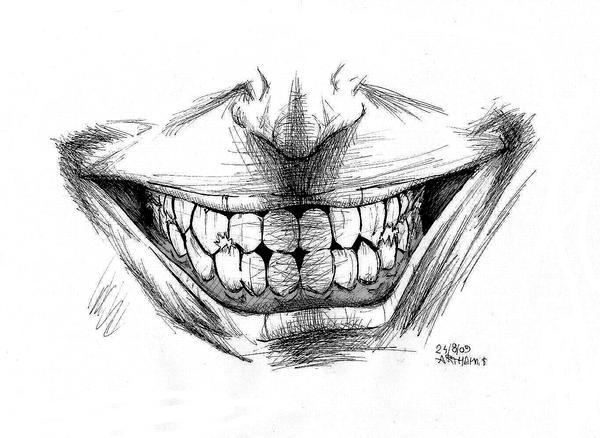 evil smile by arthemis92 on DeviantArt