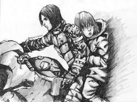 BIOMEGA - Zoichi and Ion by arthemis92