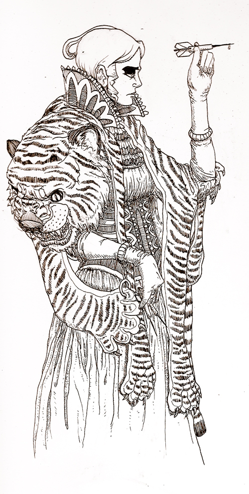 Tigress Lady by JackJersey