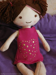Handsewn dollie dress