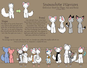 Arctic Fox Reference Sheet