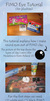 FIMO Eye Tutorial by Renegar-Kitsune