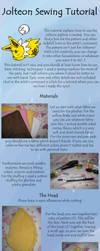 Jolteon Sewing Tutorial by Renegar-Kitsune