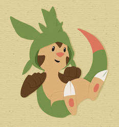 Paper Chespin