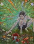 Mycelium-consciousness