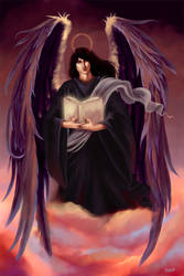 Archangel Azrael by gaux-gaux