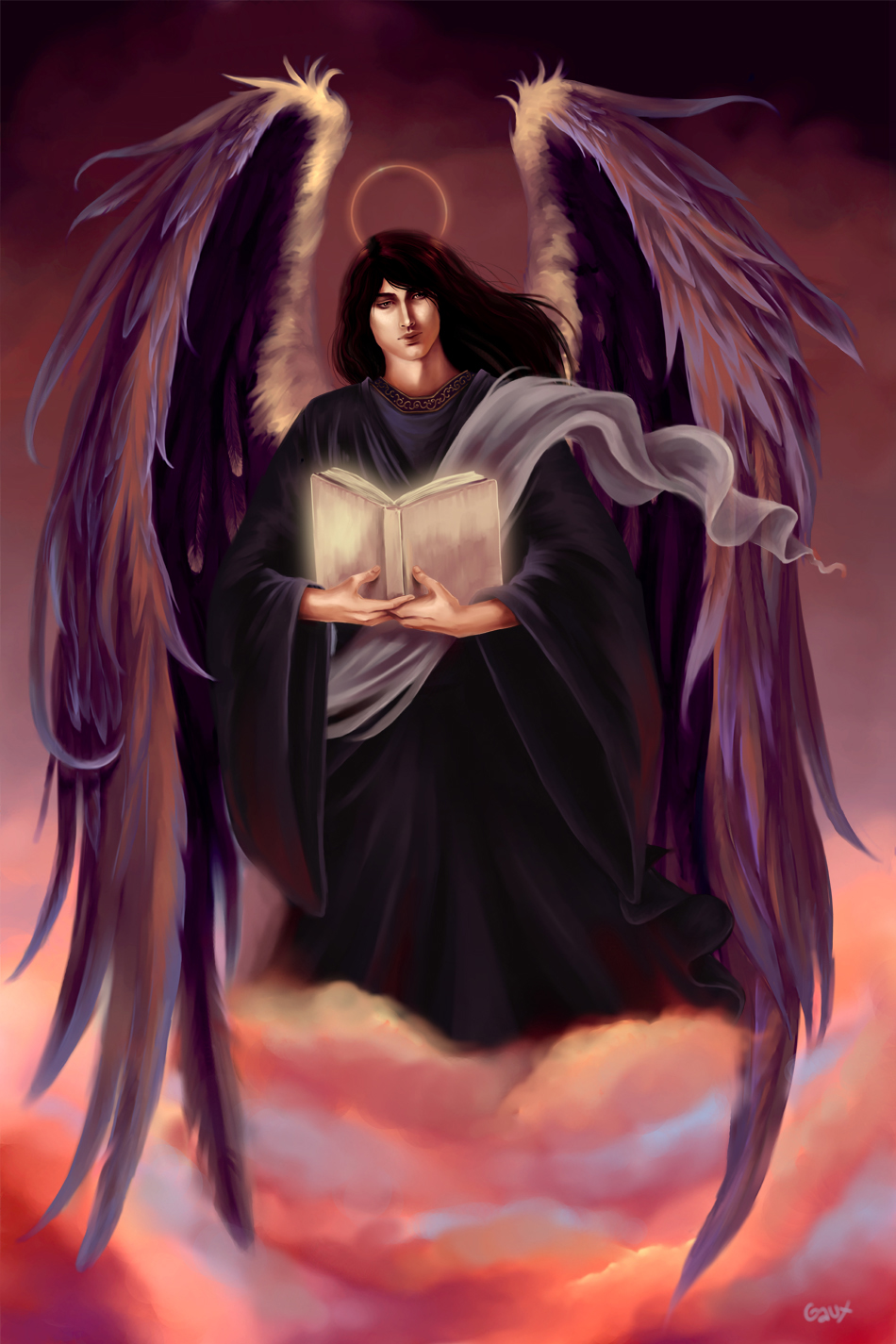 Archangel Azrael by gaux-gaux on DeviantArt