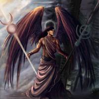 Raziel: Angel of Mystery by gaux-gaux