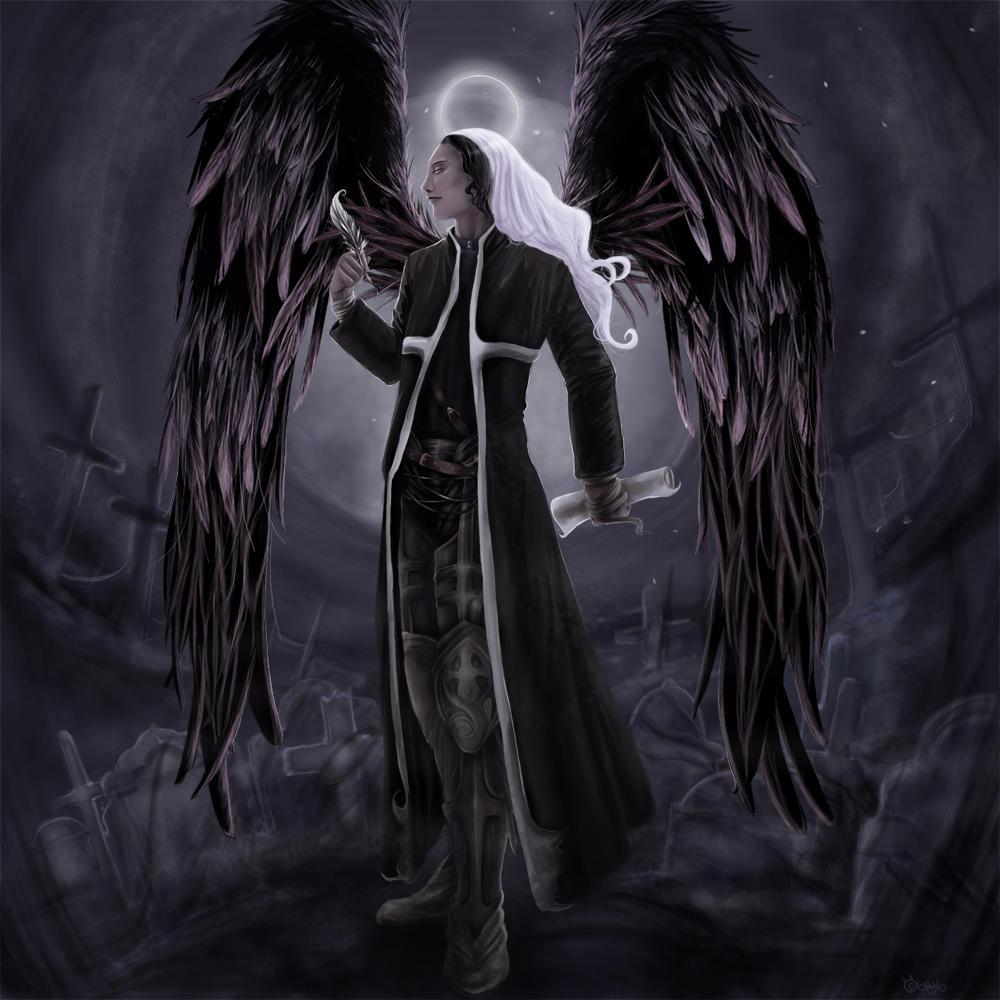 Azrael Angel Of Death By Gaux On DeviantArt
