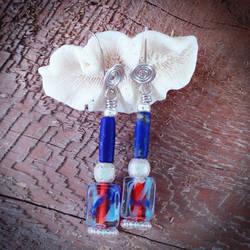 Royal Lapis Earrings