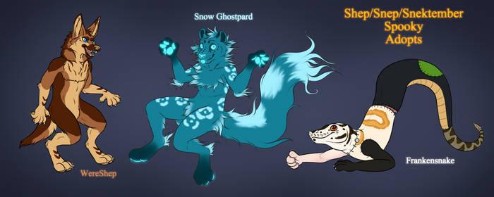 Shep-Snep-Snektember Spooky Adopts [Sold]