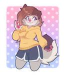 [gift] cutie in a hoodie
