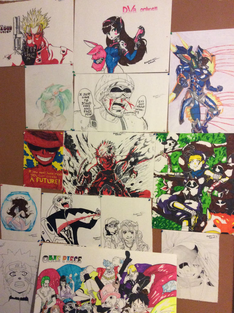 Drawing poster boards by isaiahrobinson48