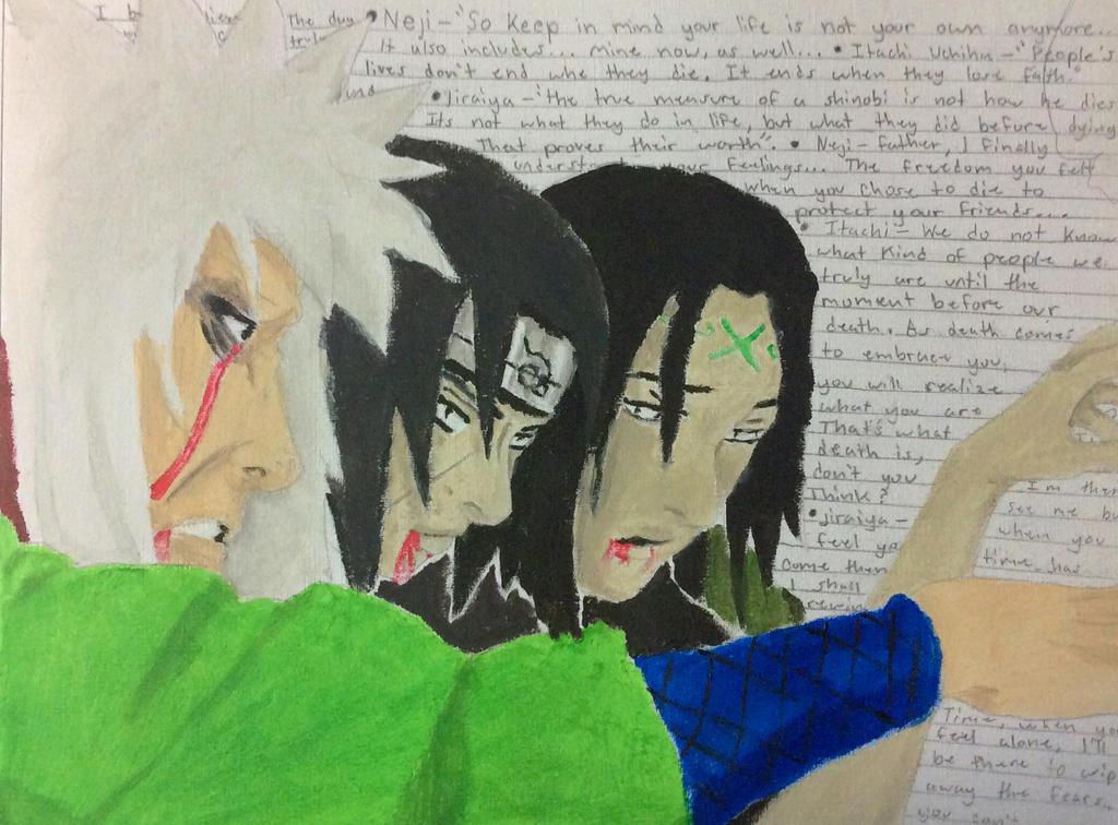 Naruto deaths by isaiahrobinson48