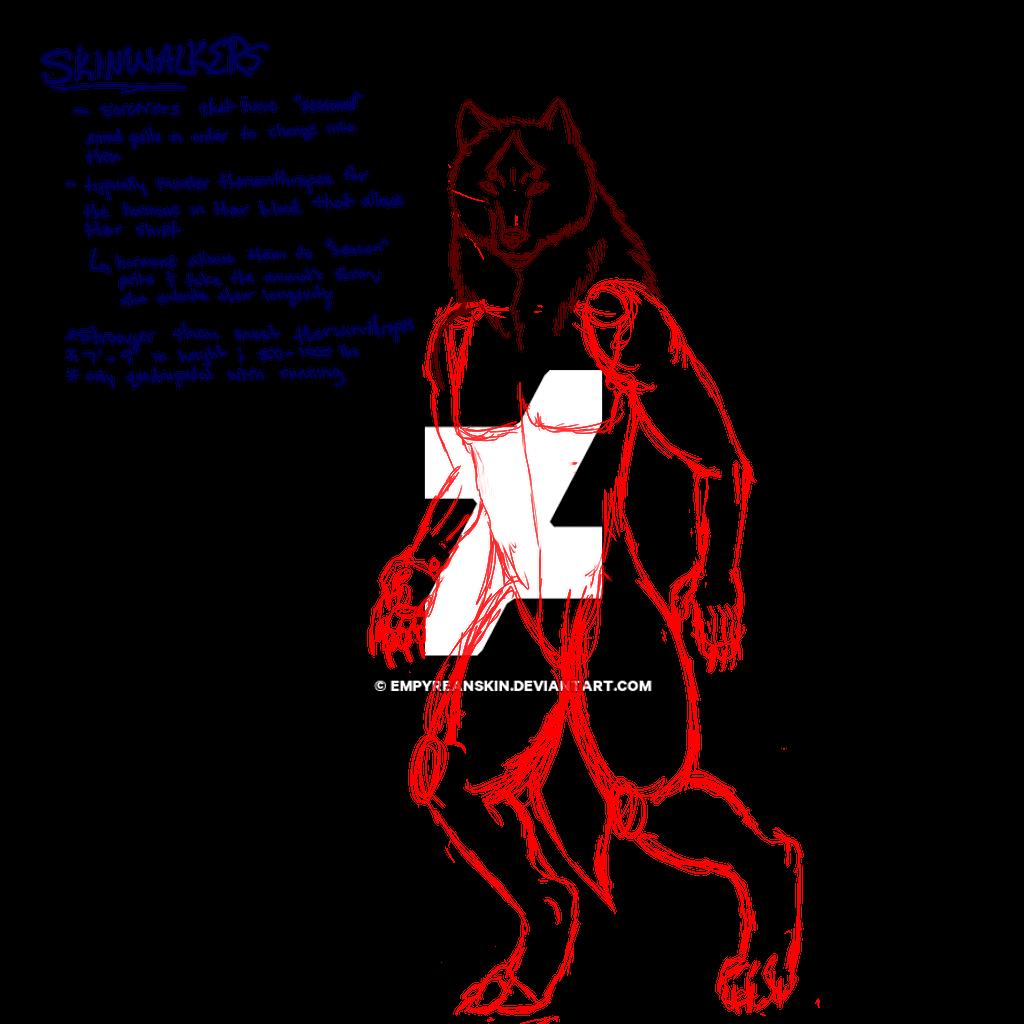Skinwalker [wip] by EmpyreanSkin on DeviantArt