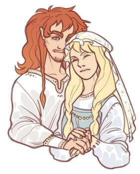 Wedding of Loki and Sigyn