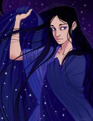 Nyx | Goddess of the night by SaharaBern