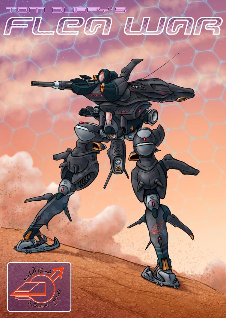 Martian Biped Armor by Rob-Cavanna