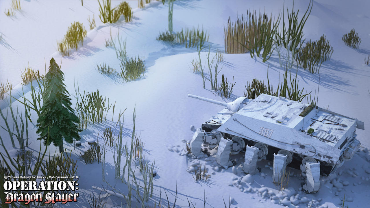 Jagdpanzer Dekapoden Wallpaper by Rob-Cavanna