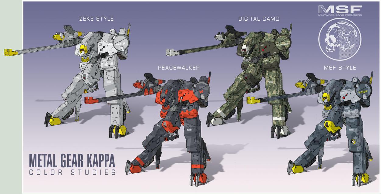 Metal Gear KAPPA collab by Rob-Cavanna