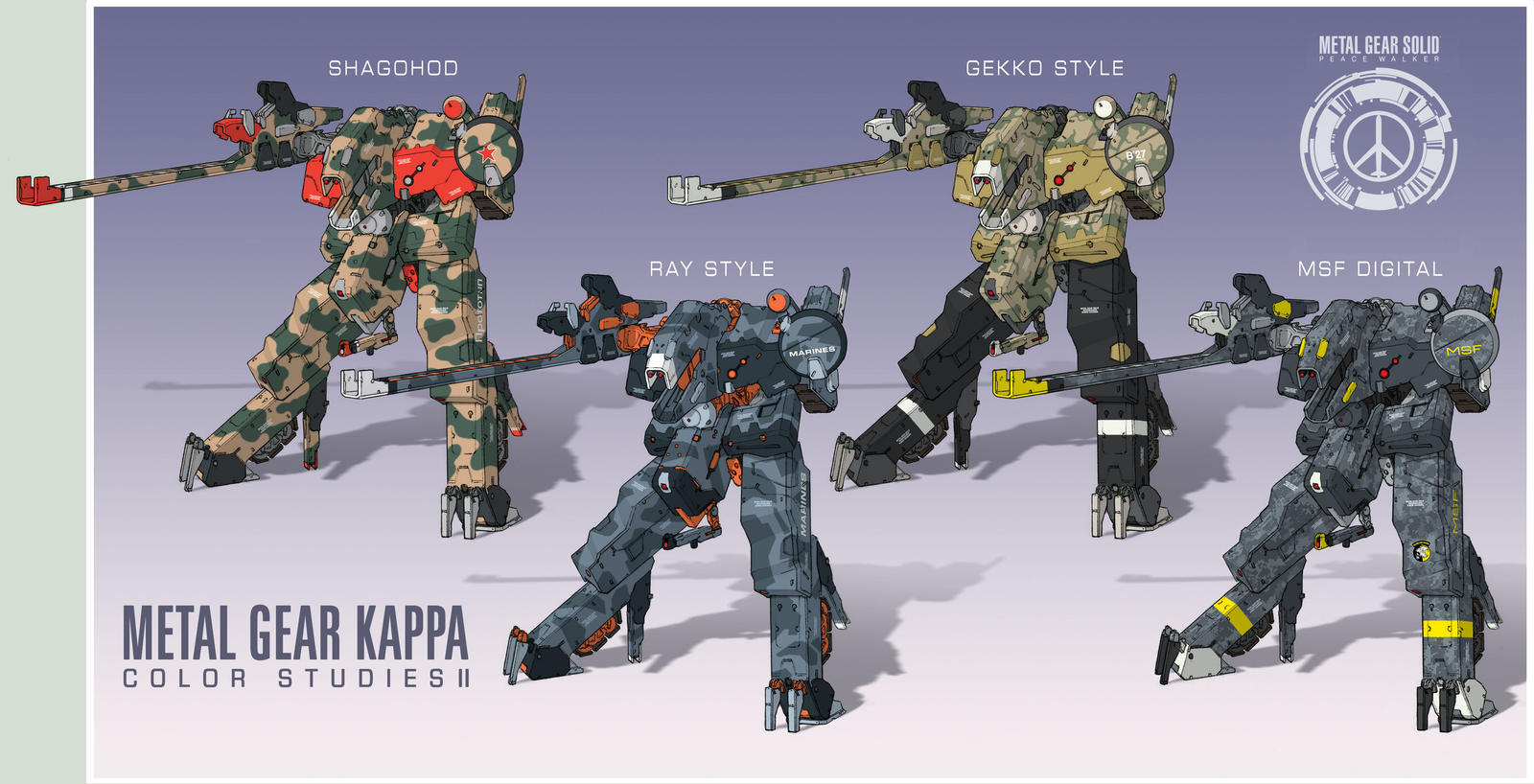Metal Gear KAPPA pt.II by Rob-Cavanna