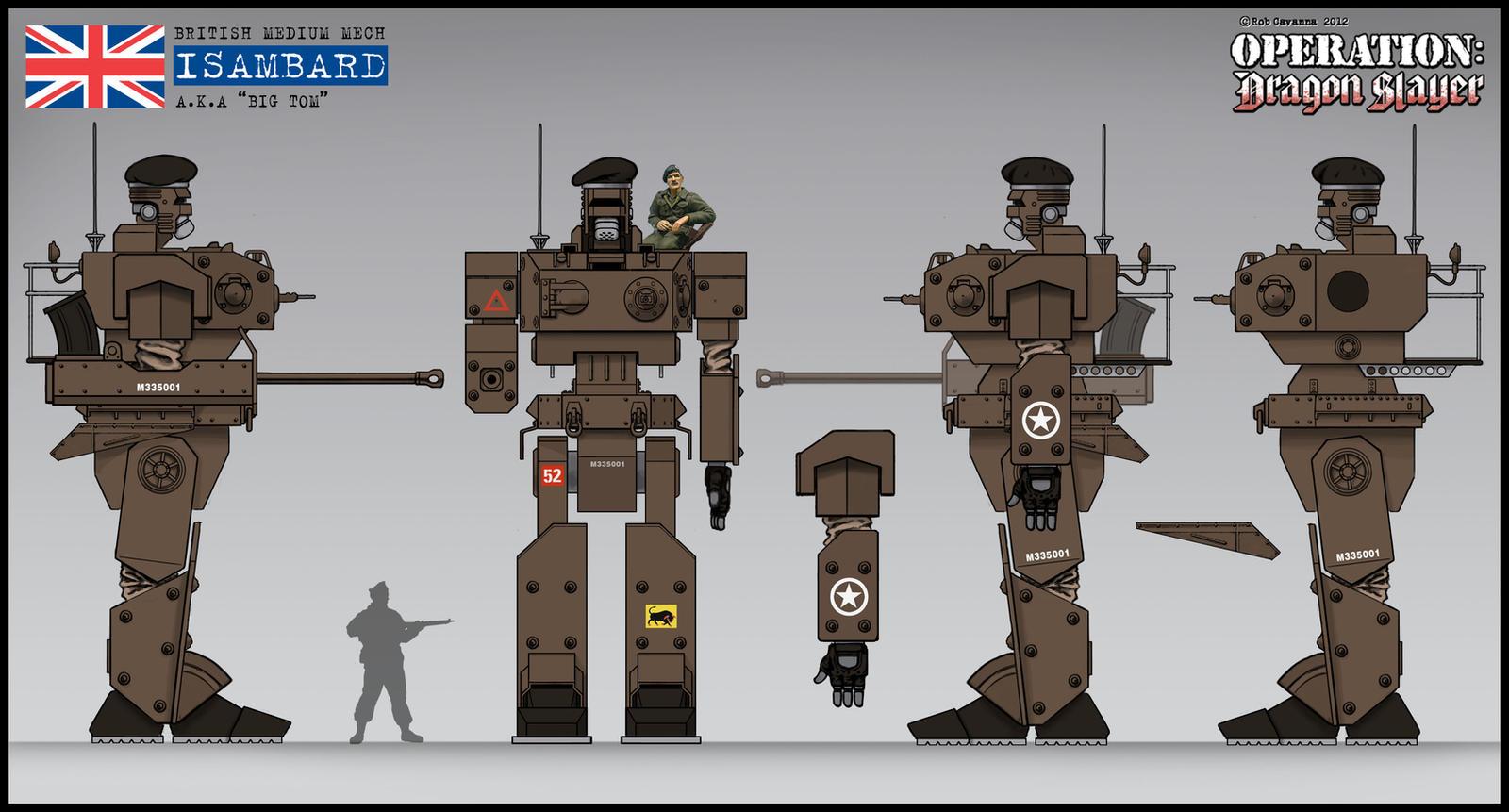 BIG TOM concept sketch by Rob-Cavanna