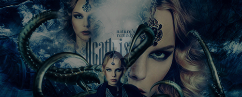 Death is Nature's Remedy Signature by divergensea