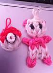 Rainbow Loom Pokeball And Baby Panda