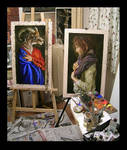 my studio, November, 2006