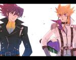 Kazama and Jack Atlus