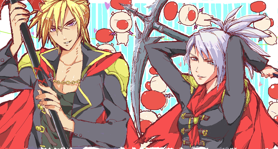 Final fantasy type-0 1 by ineedsomecake