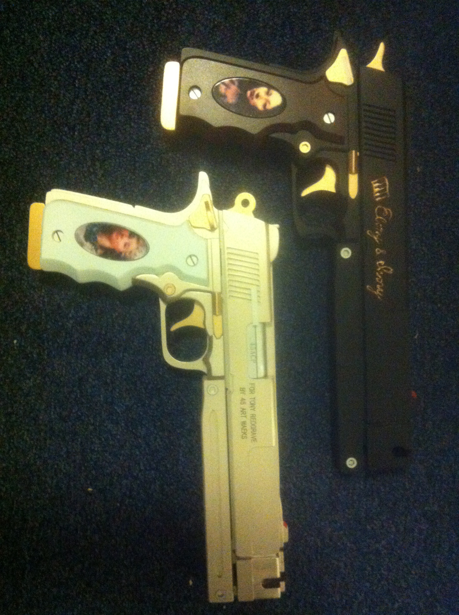 Devil May Cry Ebony And Ivory Replica 12