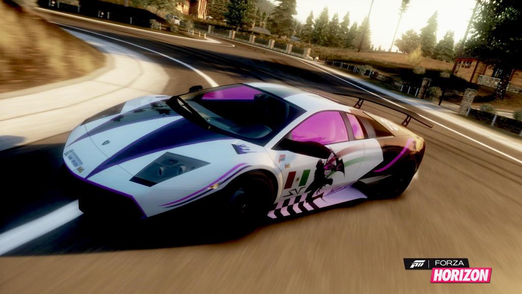 Forza Horizon Alex Mercer Vinyl Design By Danzan1 On