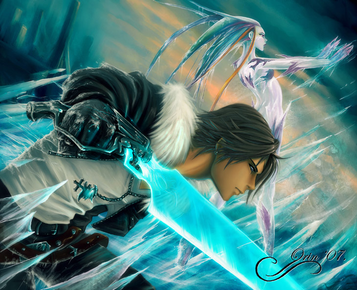 Squall   Of Ice and Lions   by orin - anime resimleri