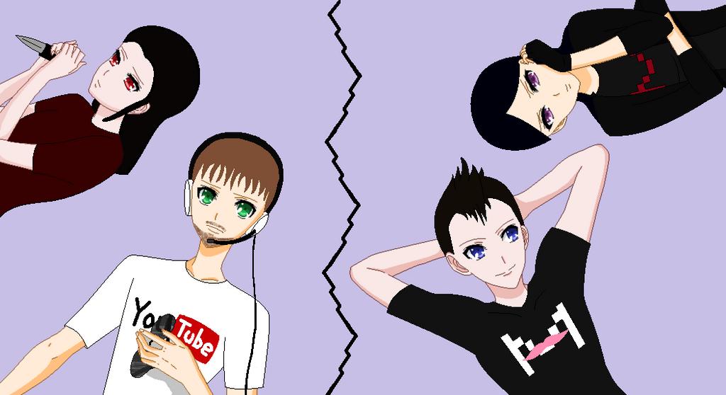 The gang of Digital Nightmare by RoseandherThorns