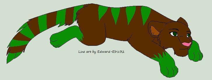 Lion for ElfangorCharizard by RoseandherThorns