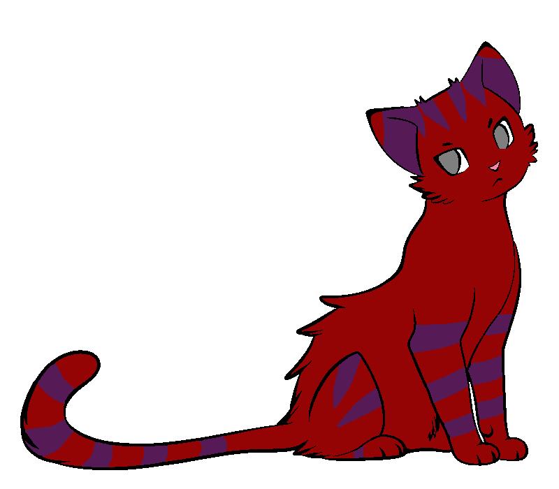 Cat for xXkuraiNekoXx by RoseandherThorns