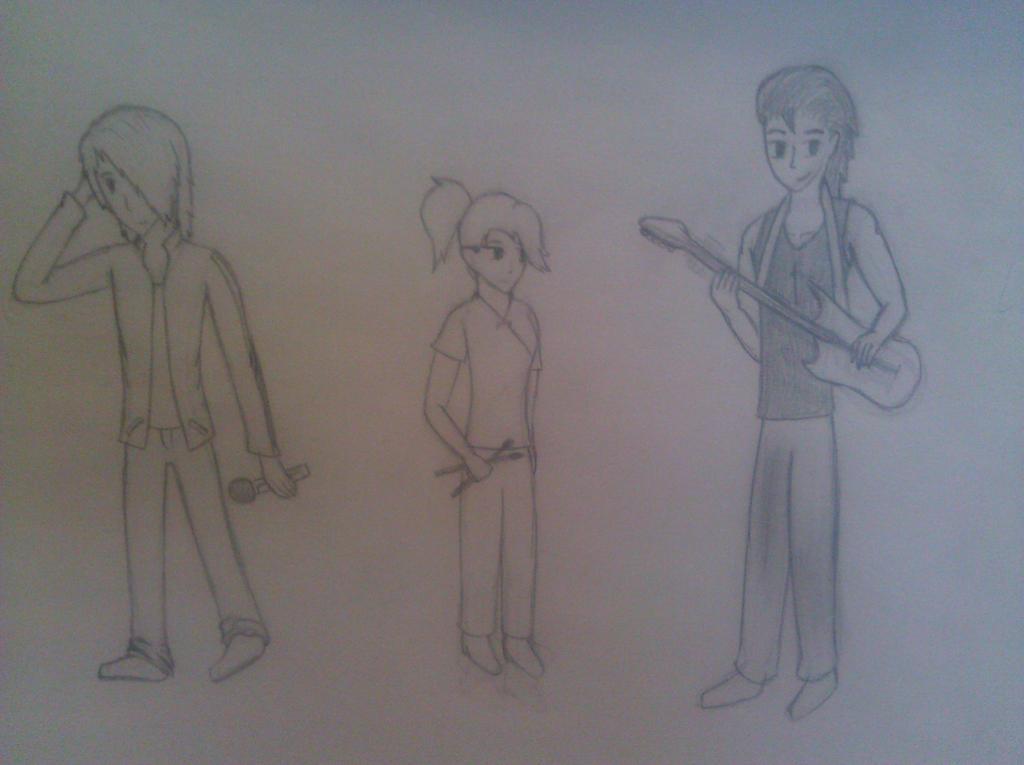 Band Draw 2 Adopt by RoseandherThorns