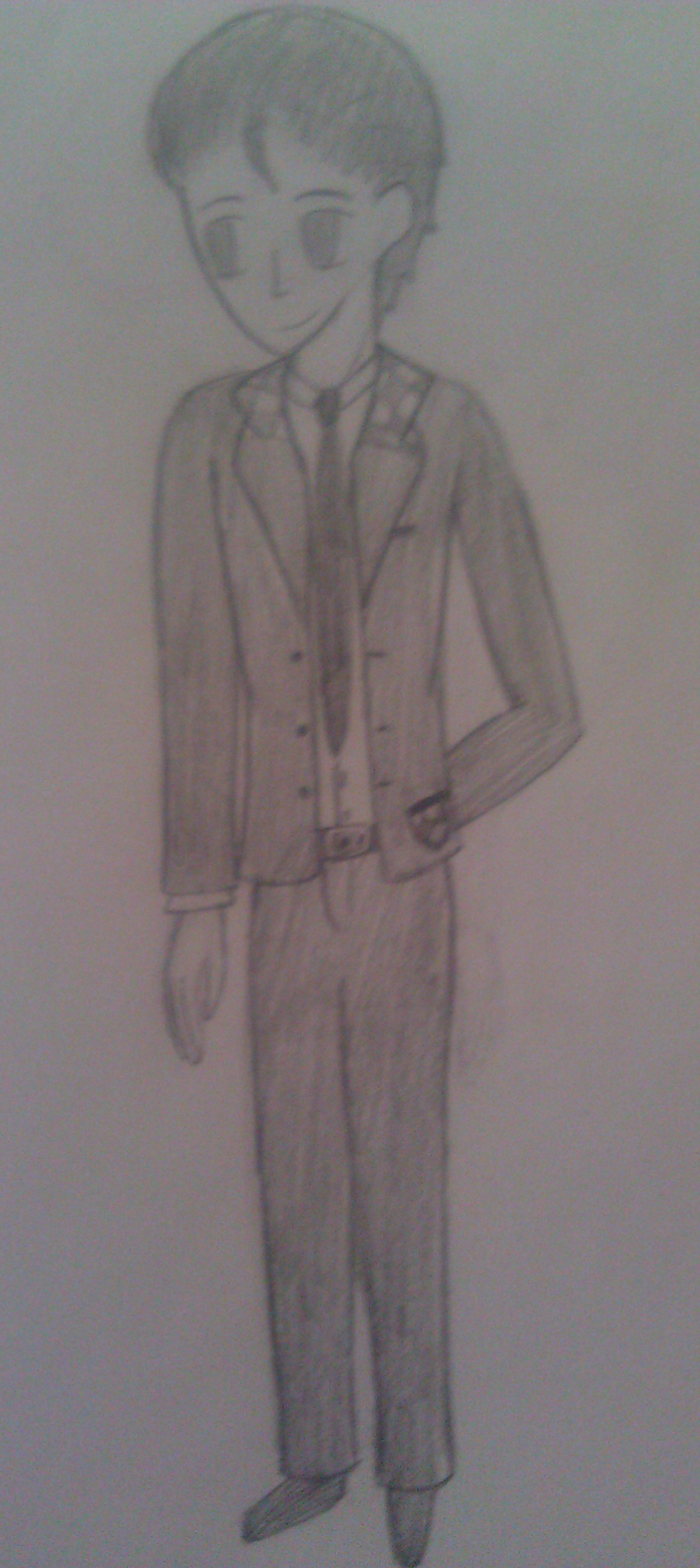 Random human for Corvus-melori by RoseandherThorns
