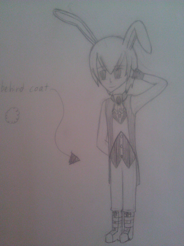 Male (rabbit) kemonomimi for theamazingwrabbit by RoseandherThorns