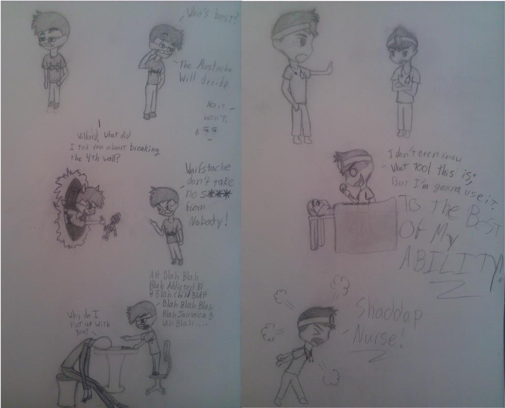Fanart Doodles~ by RoseandherThorns