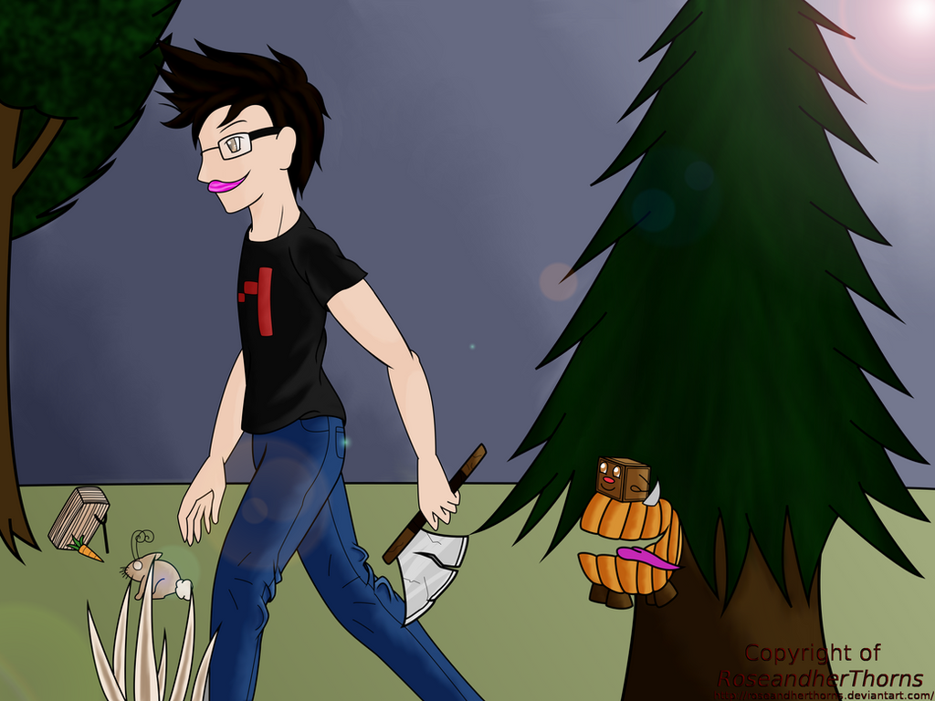 Markiplier Don't Starve by RoseandherThorns