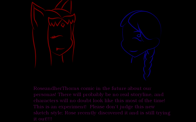 RoseandherThorns personas comic intro1 by RoseandherThorns