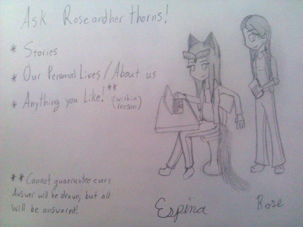 RoseandherThorns ask page~!!! by RoseandherThorns