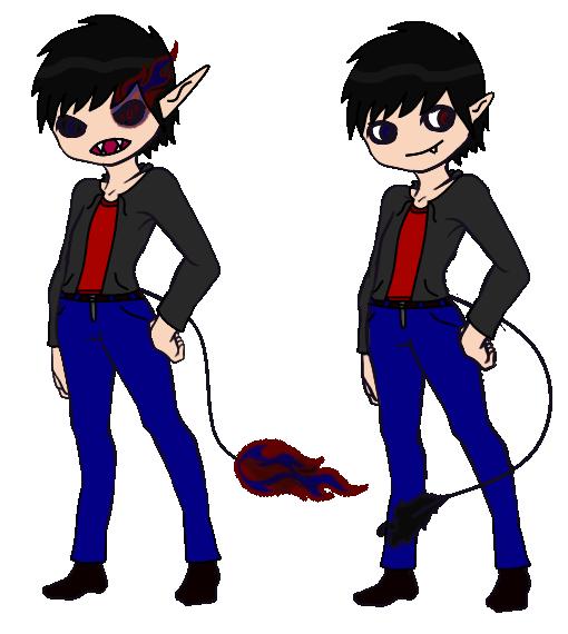 Demon gift by RoseandherThorns