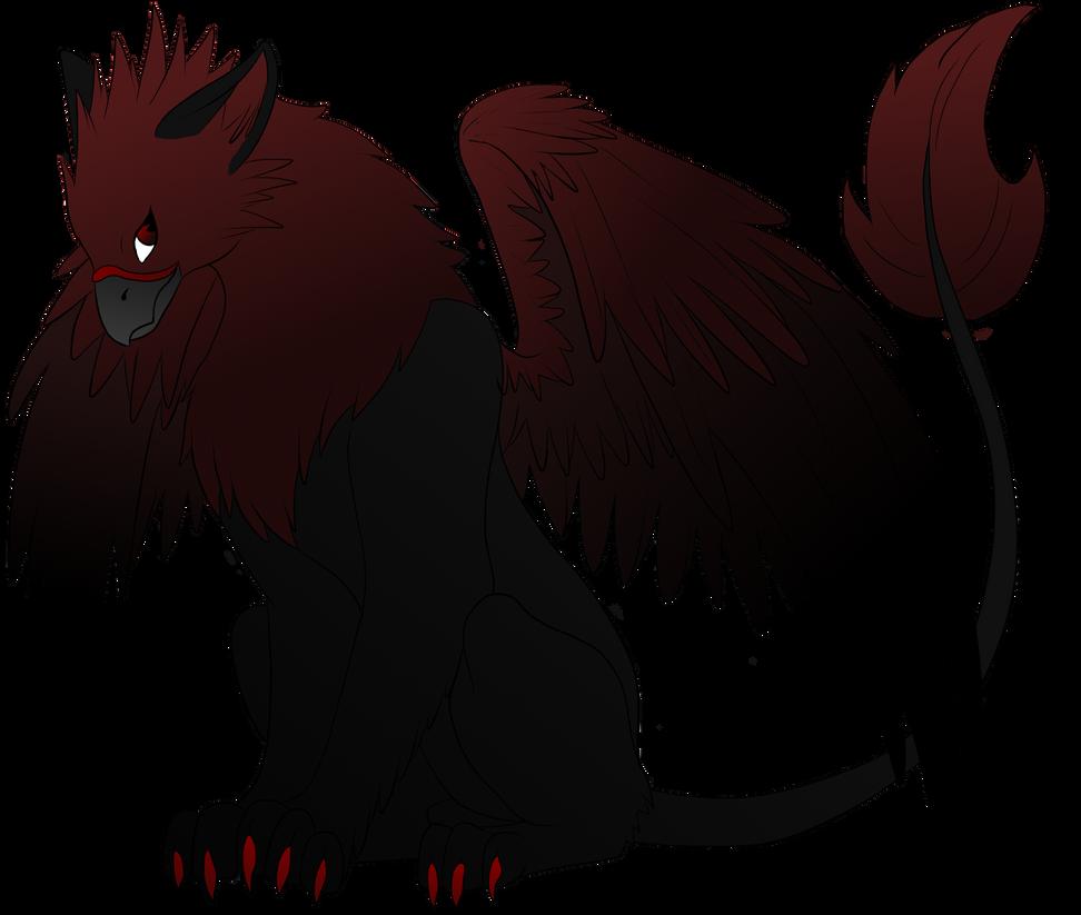 Dark Griffin adopt *CLOSED by RoseandherThorns