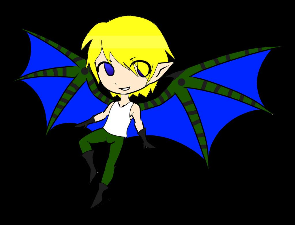 Winged boy for SoulOrangeDracaga by RoseandherThorns